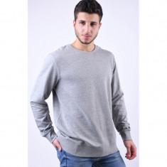 Bluza Bumbac Produkt Amn Light Grey Melange