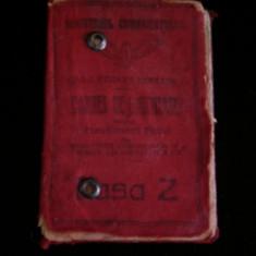 BDA S2 - CARNET DE IDENTITATE CFR - EMIS IN ANUL 1925 - PIESA DE COLECTIE