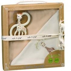 Set pentru nou-nascuti bio So pure - Girafa Sophie