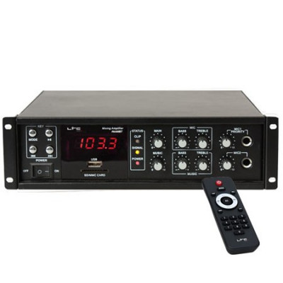 AMPLIFICATOR LINIE 100V/8OHM 50/80W USB BLUETOOTH foto