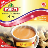 MUKTI Instant Tea Ginger Sweetened (Ceai Gimbir Instant Indulcit - 10...