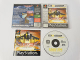 Joc Sony Playstation 1 PS1 PS One - Eagle One Harrier Attack, Single player, Actiune, Toate varstele