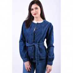Jacheta Denim Vero Moda Jamie Regular Fit Dark Blue foto