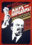 Pictura/Tablou pe panza-Propaganda comunista-Lenin, Istorice, Acrilic, Realism