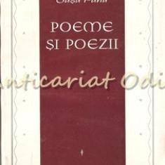 Poeme Si Poezii - Sasa Pana - Tiraj: 3680 Exemplare