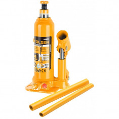 Cric hidraulic Tolsen, tip butelie, suporta maxim 4 tone