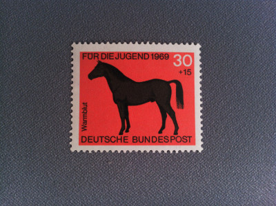 Timbru Germania 1969 30+15 Pfg Cal foto