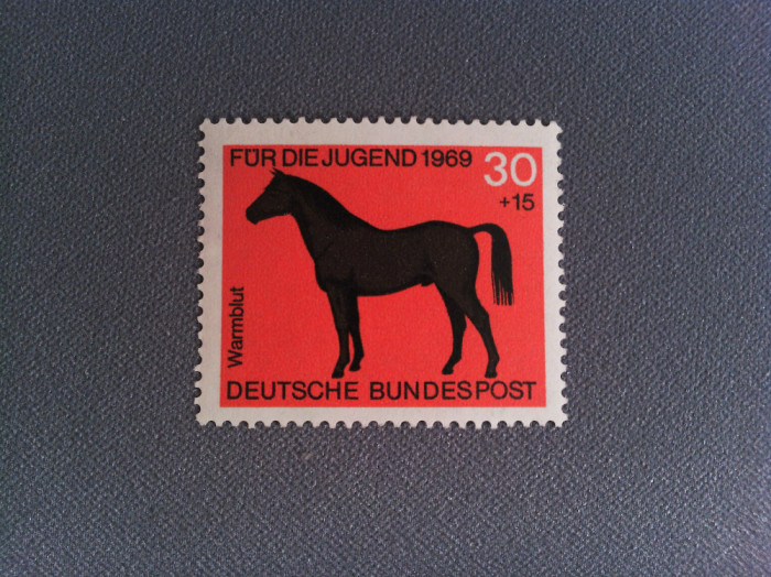 Timbru Germania 1969 30+15 Pfg Cal