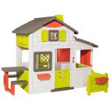 Cumpara ieftin Casuta pentru copii Smoby Friends Playhouse Neo cu gradina