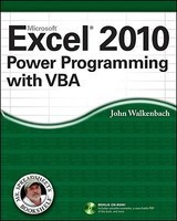 Excel 2010 Power Programming with VBA foto
