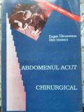 ABDOMENUL ACUT CHIRURGICAL-EUGEN TARGOVEANU, DAN LAZESCU