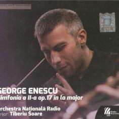 CD George Enescu – Simfonia a II-a Op.17 În La Major, muzica clasica