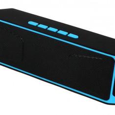Boxa Portabila iUni DF02, Radio, Slot Card, Blue