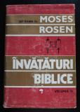 Șef Rabin Dr. Moses Rosen - Învățături biblice (vol. III) (cartonată)
