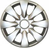 Capace roata 15 inch tip Toyota, culoare Silver 15-316 Kft Auto