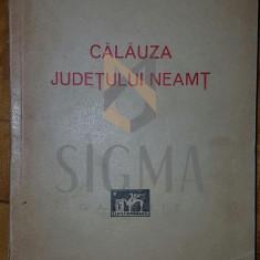 PREOT C. MATASE - CALAUZA JUDETULUI NEAMT, 1929