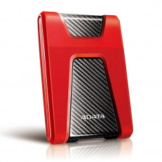 Hard disk extern ADATA Durable HD650 1TB 2.5 inch USB 3.1 Red