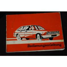 Chrysler France manual notita/ carte tehnica lb germana