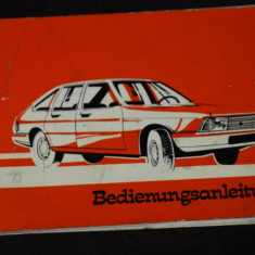 Chrysler France manual notita/ carte tehnica lb germana