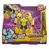 Figurina Transformers Cyberverse Action Attacker Ultra, Bumblebee E7106
