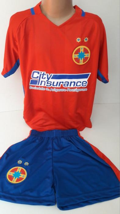 Echipament  fotbal pentru copii FCSB Steaua Bucuresti