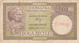 ROMANIA 20 LEI ND (1947,1948,1950) F LUCA, RUBICEC