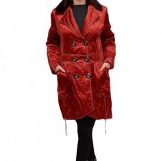 Jacheta rafinata, de culoare rosie cu cusaturi albe JA-2460-AL