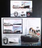 Cumpara ieftin NIUAFO'OU 2012 VAPOARE, TRANSPORTURI, Titanic, serie 4v +Bloc nedantelate, mnh, Nestampilat