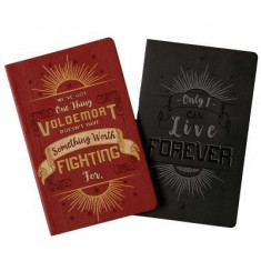 Harry Potter: Character Notebook Collection (Set of 2): Harry and Voldemort