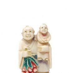 Netsuke din fildeș natural | Perioada Meiji | Japonia