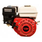 Motor pe benzina Micul Fermier, rezervor 3.6 l, 7 CP, 196 CC, bujie F6TC, pornire sfoara