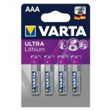 Baterii Varta Ultra Lithium Professional AAA, R3 4 Baterii / Set