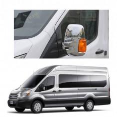Capace oglinzi cromate Ford transit 2014-2018