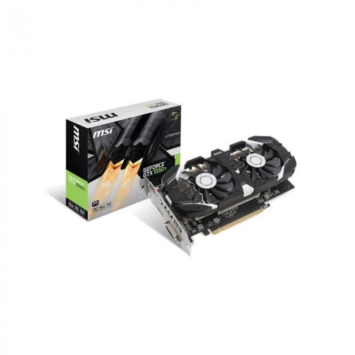 Placa video MSI GeForce GTX 1050 Ti 4GT OC 4GB GDDR5 128-bit