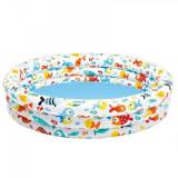 Piscina Gonflabila Pentru Copii Intex Aquarium 59431, Rotund