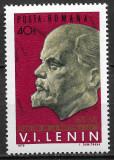 România - 1970 - LP 725 - 100 ani de la nașterea lui Lenin - serie completă MNH, Nestampilat
