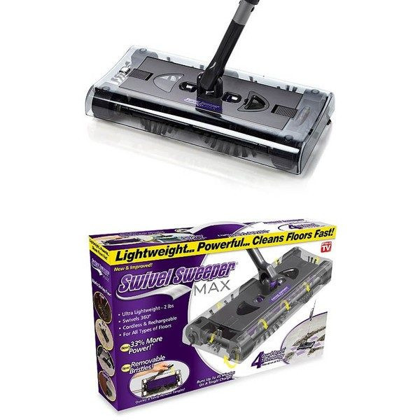 Matura rotativa electrica fara fir Swivel Sweeper Max Technology G8