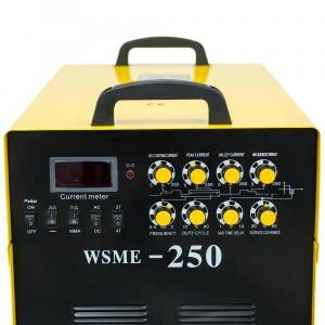 Aparat de sudura Intensiv WSME 250 AC/DC TIG/MMA INTENSIV 400V Galben