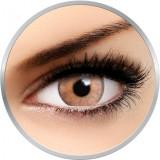 Flash Elixor Sinopia Brown - lentile de contact colorate caprui 90 de purtari (2 lentile/cutie)