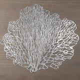 Set 6- Individual Silver Leaf