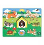 Puzzle Din Lemn Animalele De Companie, Melissa & Doug