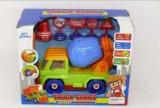 Jucarie Set Camion cu betoniera si accesorii Truck Series 3156F