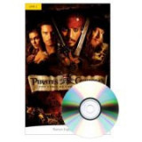 English Readers Level 2. Pirates of the Caribbean. The Curse of the Black Pearl Book + CD - Irene Trimble