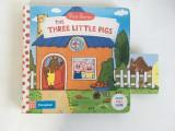 The Three Little Pigs, carte limba engleza interactiva pt copii