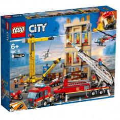 Set de constructie LEGO City Divizia pompierilor din centrul orasului