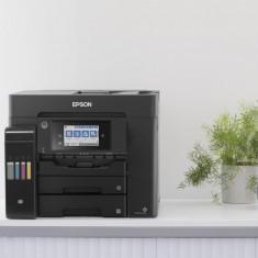 Multifunctional inkjet color ciss epson l6550 dimensiune a4 (printare copiere scanare fax) viteza 32 ppm