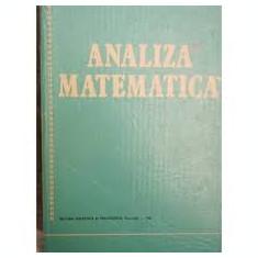 o. stanasila analiza matematica