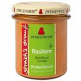 Crema Bio Tartinabila cu Busuioc si Rosii Zwergenwiese 160gr Cod: zw1260