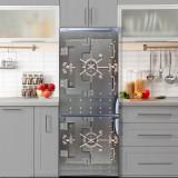 Sticker Tapet Autoadeziv pentru frigider, 210 x 90 cm, KM-FRIDGE-15