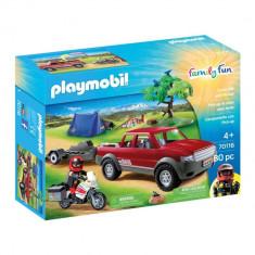 Playmobil Family Fun - Set camping